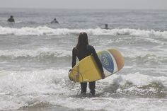 Watch Surfers At Pismo Beach