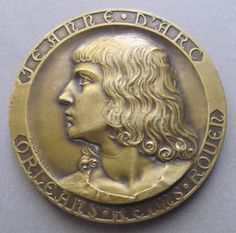 This is a beautiful antique French Art Medal By the engraver Georges PRUD'HOMME 1873-1947