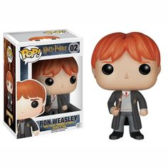 This is a Ron Weasley POp Vinyl Figure that is produced by Funko. Ron Weasley looks great in his Funko POP Vinyl form! The Harry Potter POP Vinyl's have been highly awaited by the fans for quite some