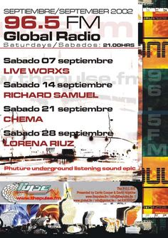 David Hopkins and Carrie Cooper. The Pulse Fm. www.thepulse.fm Global Radio Marbella.  Underground Dance music radio program live radio on the costa del sol. Featuring the best DJ´s from the Costa del Sol and around the World. Live Worxs Richard Samuel Chema Lorena Ruiz