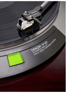 Denon DP-62L Direct Drive Turntable....ONE OF THE BEST TURNTABLES I'VE BOUGHT