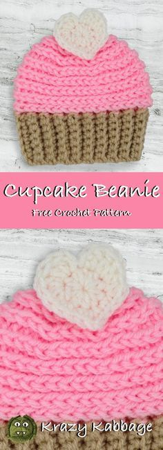 Mesmerizing Crochet an Amigurumi Rabbit Ideas. Lovely Crochet an Amigurumi Rabbit Ideas. Crochet Kids Hats, Crochet Crafts, Crochet Cupcake Hat, Crochet Ideas, Crochet Children, Crocheted Hats, Diy Crafts, Knit Hats, Decor Crafts