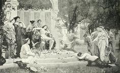 Henrietta Rae (1859-1928), Psyche before the throne of Venus