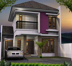 50 model desain rumah minimalis 2 lantai   denah