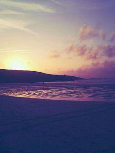 Porthmeor Beach in St Ives, Cornwall