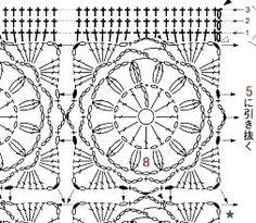 Stunning motif diagram for a bag