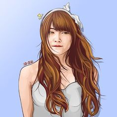 Iriyama Anna  Minat? Cek bio  #vector #vector_id #vexel #sketch #bestvector #illustration #photoshop #digitalart #drawing #artwork #akb48 #iriyamaanna #annin #48_art