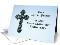 Invitation th ordination anniversary priest orn priest and