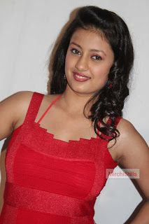 Kanika Tiwari in Sleeveless Red Dress Spicy Pics ~ Bollywood Gallery South Indian Actress Gallery
