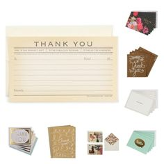Paperchase Thank You Cards