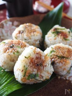 Rice Recipes, Asian Recipes, Healthy Recipes, Ethnic Recipes, Japanese Street Food, Japanese Food, Japanese Recipes, Onigiri Recipe, Rice Balls