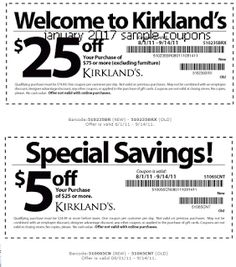 Kirklands Coupons