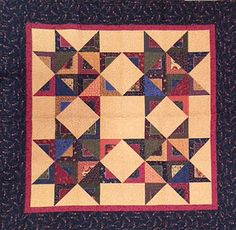 Kansas Troubles Quilters Aleece's Charming Stars from Layers of Love book