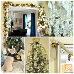 Dining Room Decorating Ideas for Christmas from Monica of Monica Wants It