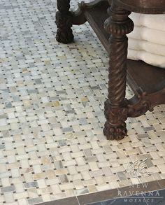 pretty basketweave tile