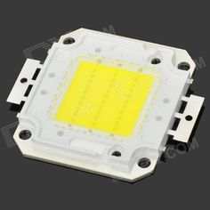 DIY 30W 6500K 3500lm Square LED White Light Module (DC 33~35V). Model 6461 Material Plastic + aluminum Color Silver, Yellow Quantity 1 Total Emitters 1 Power 30 W Color BIN White Rate Voltage 33-35 V Luminous Flux 2500-3500 lm Color Temperature 6000-6500 K Application LED ceiling light, LED downlight, LED lamps, LED Bulb, LED spotlights, LED mining lamps, LED tunnel lights, LED track lights and so on. Features Current: 1050mA Packing List 1 x LED square module. Tags: #Lights #Lighting #Bulbs…