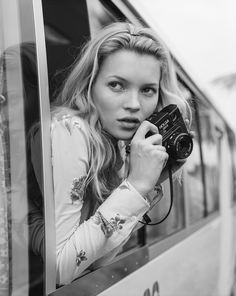 """Kate Moss, Vietnam, 1996. Photographed during """"Good Morning Vietnam"""" shoot for Vogue; shot February 1996, published June 1996."""