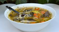 Discover recipes, home ideas, style inspiration and other ideas to try. Asian Noodle Recipes, Healthy Asian Recipes, Vegetarian Recipes, Healthy Foods, Easy Soup Recipes, Whole Food Recipes, Healthy Potato Soup, Mauritian Food, Homemade Soup