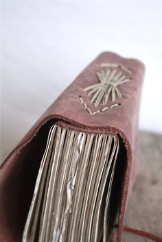 Large Handstitched Leather Journal