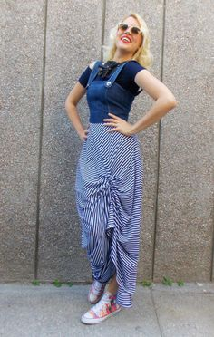 https://www.etsy.com/listing/233998608/denim-maxi-dress-striped-summer-dress