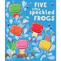 Five Little Speckled Frogs Board Book