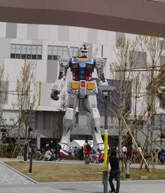Real scaled Gundam - I wonder if an earthquake happens there...