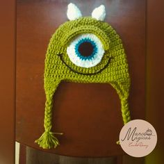 Mike Wazoswki. Crochet Hat tipo Chullo.