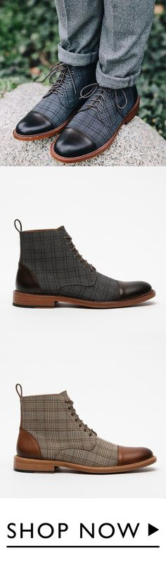 Menstache Comfortable Casual Classic Boots Men Dress, Dress Shoes, Mens Boots Fashion, Rockabilly Fashion, Jeans And Boots, Casual Shoes, Dapper Clothing, Guy Shoes, Extreme Fitness