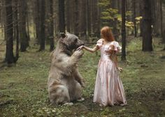 Katerina Plotnikova: Russian Photographer Excels at Photographing Human and Animal Interaction