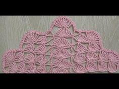 The construction of the fan model wrap - Crochet Crochet Shawl Diagram, Crochet Motifs, Crochet Stitches, Crochet Patterns, Stitch Crochet, Bobble Stitch, Crochet Baby, Free Crochet, Braidless Crochet