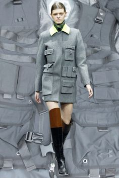New York AW14 GIFs | Dazed ALEXANDER WANG  Hunters on the New Terrain - Utility Pockets, Topographic Digital Map, Paisley Cutout, Sochi Downhill Skier, Red Blood Cells, NASA Imaging of Earth from Space.