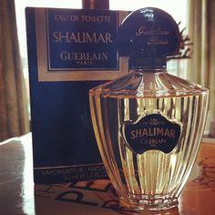 Perfume Pic of the Week No. 1: Vintage Shalimar Eau de Toilette