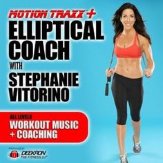 Elliptical Coach: Guided Interval Music Mix for Elliptical Machine Cardio Workout With Fitness Instructor Stephanie Vitorino Best Workout Machine, Workout Machines, Cardio Workout At Home, Workout Music, Elliptical Workouts, Fit Board Workouts, Fun Workouts, Weight Workouts, Workout Board