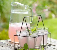 pink ginger lemonade