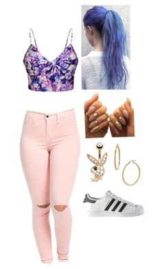 """""""Untitled #451"""" by tommochick12 on Polyvore featuring Ally Fashion, adidas and Bony Levy"""