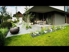 Ландшафтный дизайн частного дома: современные идеи - YouTube