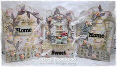 Dutch Doobadoo: Home Sweet Home tutorial