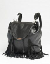 Fringed leather backpack from Ardene. #Sarnia #LambtonMall
