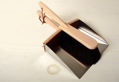 Redecker Dustpan and Broom Set: Remodelista