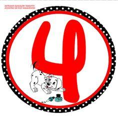 Alfabeto - Imprimibles de los 101 dálmatas. | Oh my Alfabetos!