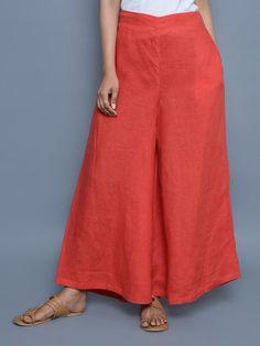 Thai Fashion, Red Fashion, Fashion Pants, Fashion Outfits, Salwar Designs, Kurta Designs Women, Kurta Style, Smart Outfit, Pants For Women