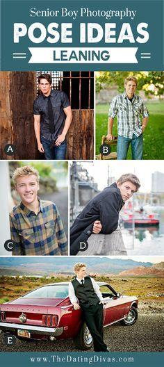 Senior Boy Photography Poses