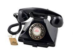 GPO CARRINGTON Zwart - Telefonie - 123platenspeler.nl