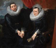 "Antoon van Dyck, ""Ritratto di coniugi"""