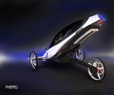 Prisma - Electric Vehicle by André Batista, via Behance