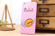yellow duck iphone case for iphone 6[inch4.7] and iphone6[inch5.5]