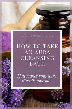 An aura cleansing bath can restore your aura to the point where it is gorgeous, vibrant, and literally sparkling! Here's how to take a proper aura bath and signs that you need to get soaking pronto. Aura Cleansing, Spiritual Cleansing, Energy Cleansing, Spiritual Bath, Spiritual Growth, Self Healing, Chakra Healing, Aura Colors, Spiritual Development