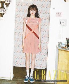 Lee Sung-kyoung featured fashion magazine Grazia | Koogle TV