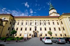 Archbishop castle in Kromeriz - Czech Republic