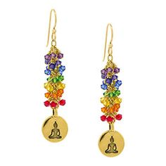 Chakra Therapy Earrings | Fusion Beads Inspiration Gallery